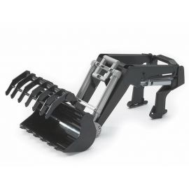 Čelní nakladač + drapák pro traktory série 30xx 03333 BRUDER