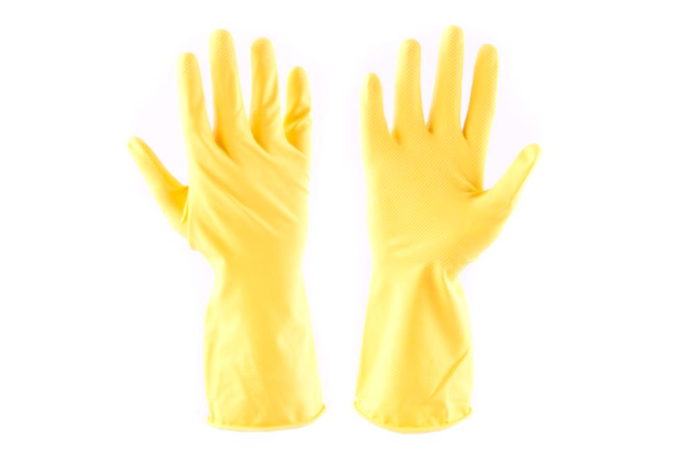 """Celomáčené rukavice STARLING žluté, v. 09"""" (L) *HOBY 0Kg 101120"""