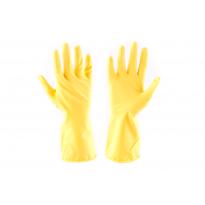 "Celomáčené rukavice STARLING žluté, v. 10"" (XL)"