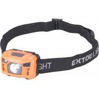 Čelovka 100lm, nabíjecí, USB, 3W LED EXTOL LIGHT