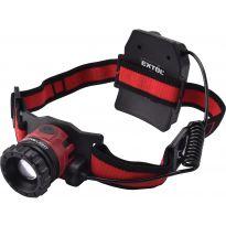 Čelovka 450lm CREE XPL, nabíjecí, USB, 10W CREE XPL, funkce ZOOM EXTOL LIGHT