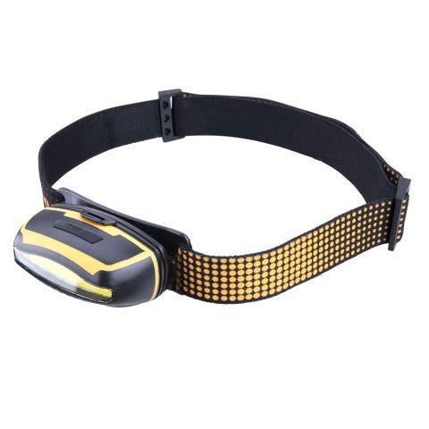 Čelovka širokoúhlá 300lm, 5W COB LED EXTOL LIGHT