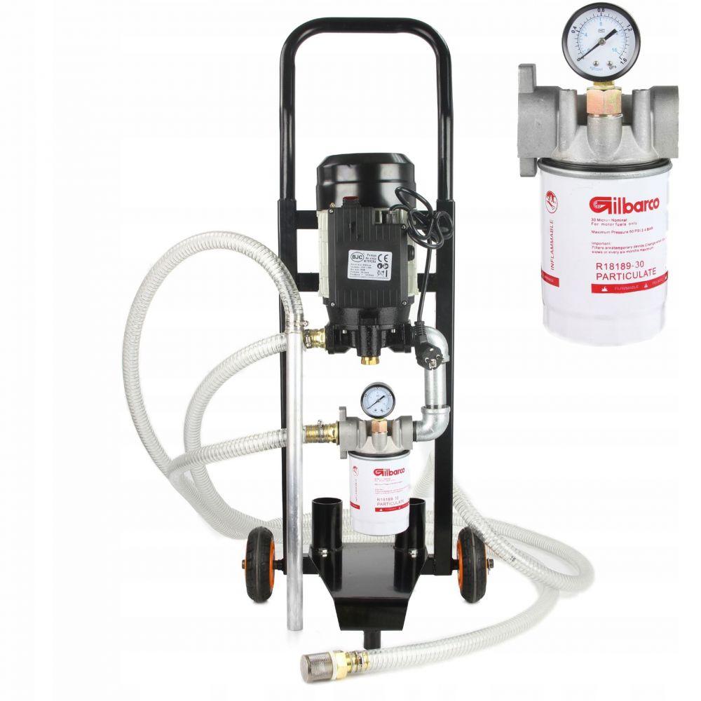Čerpací stanice na olej a naftu 230V BJC