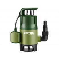 Čerpadlo na znečištěnou vodu 400W EXTOL Craft