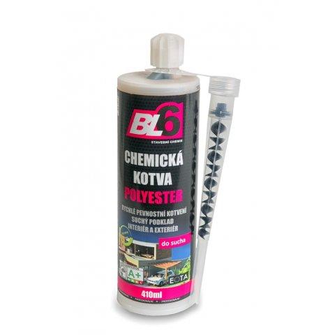 Chemická kotva vinylester BL6 - kartuše 410ml