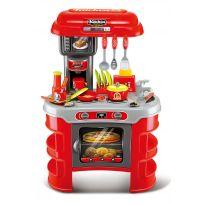 Hračka G21 Dětská kuchyňka Seba červená