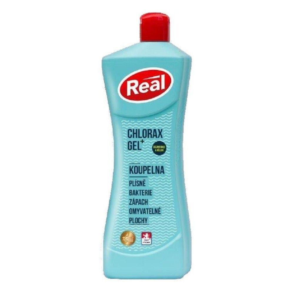 Dezinfekční a bělící prostředek Real gel chlorax, 650g/Z303460/ *HOBY 0Kg Z312470