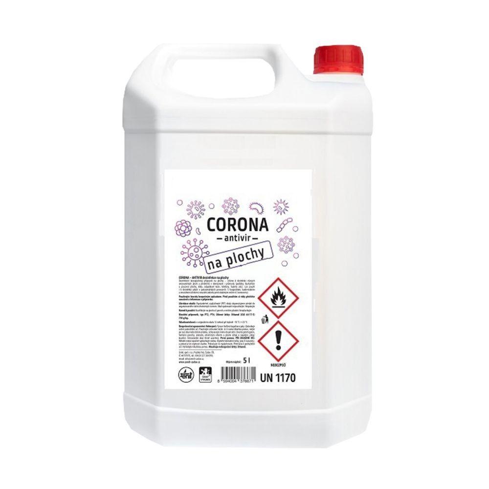 Dezinfekční čistič na plochy Corona-antivir 5l *HOBY 0Kg Z317090