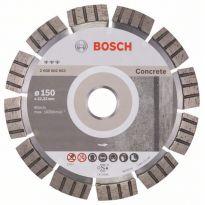 Diamantový dělicí kotouč Best for Concrete - 150 x 22,23 x 2,4 x 12 mm - 3165140581592 BOSCH