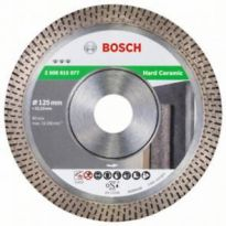Diamantový dělicí kotouč Best for Hard Ceramic - 125 x 22,23 x 1,4 x 10 mm, BOSCH