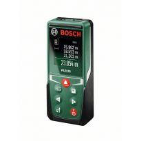 Digitální laserový dálkoměr Bosch PLR 25, 0603672521