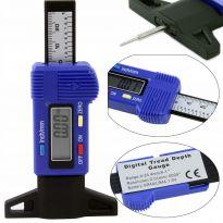 Digitální měřič hloubky dezénu pneumatik 0-25,4mm MAR-POL