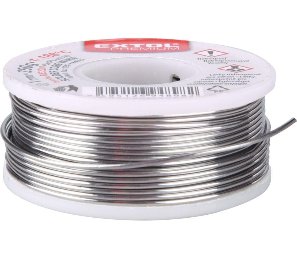 Drát pájecí trubičkový 1mm/100g Sn60/Pb40 EXTOL Nářadí-Sklad 1   0