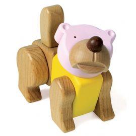 "Dřevěná skládačka ""Bear"" - Medvěd"