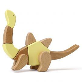 "Dřevěná skládačka ""Brockie"" - Dinosauři"