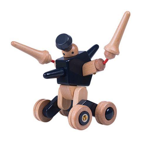 "Dřevěná skládačka ""EQBOT Tibo"" - Roboti"