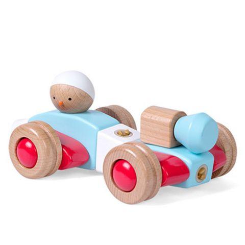 """Dřevěná skládačka """"MyRider B"""" - Dopravní prostředky / Chlapeček"""