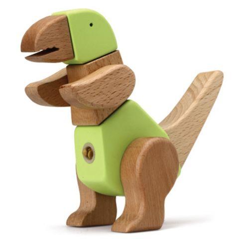 "Dřevěná skládačka ""Tino"" - Dinosauři"