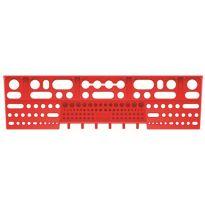 Držák na nářadí BINEER SHELFS 580x158mm, červený KISTENBERG