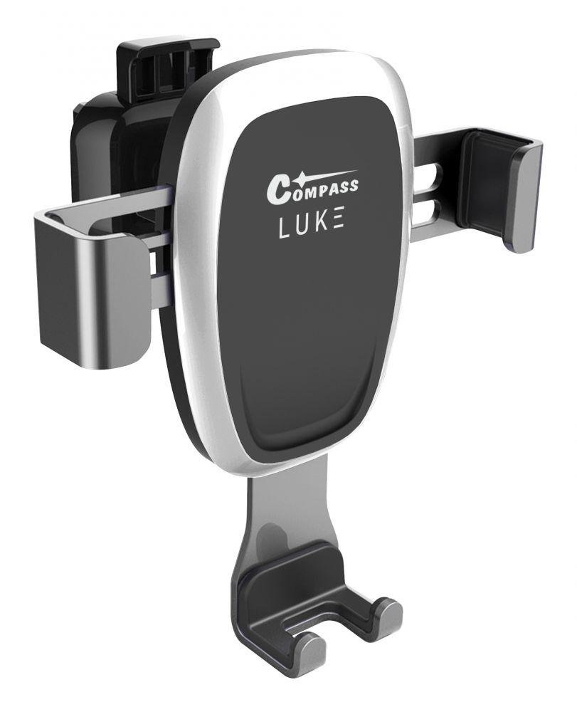 Držák telefonu LUKE-A chrome COMPASS *HOBY 0.11Kg CO-06308
