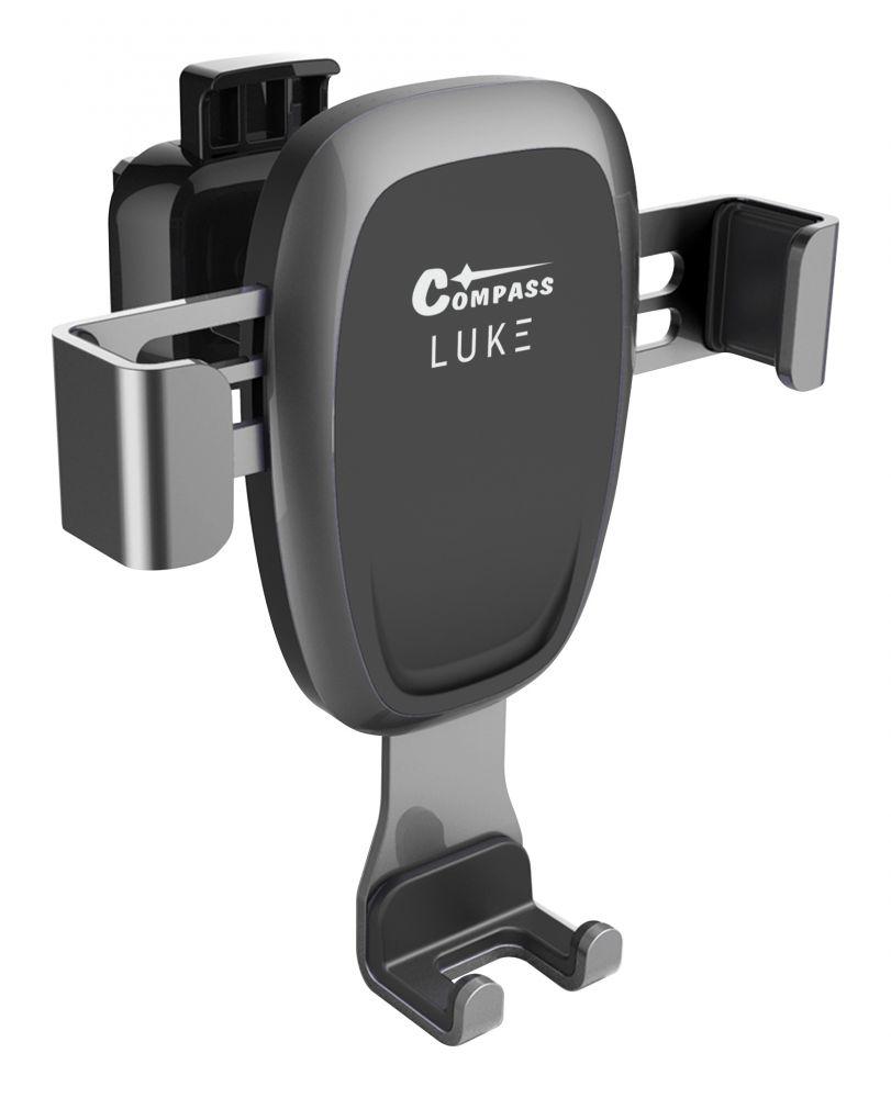 Držák telefonu LUKE-A dark grey COMPASS *HOBY 0.11Kg CO-06307