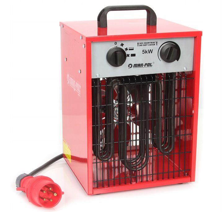 Elektrický ohřívač 5kW MAR-POL Nářadí-Sklad 1 | 8