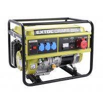Elektrocentrála benzínová, 13HP/5,5kW (400V) 3x1,8kW (230V) EXTOL CRAFT