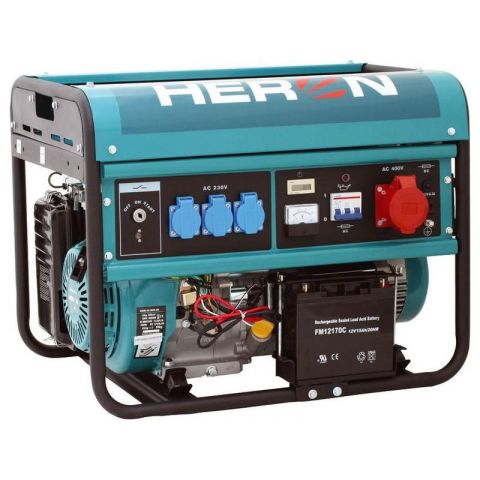 Elektrocentrála benzínová 13HP, EGM 60 AVR-3E, HERON