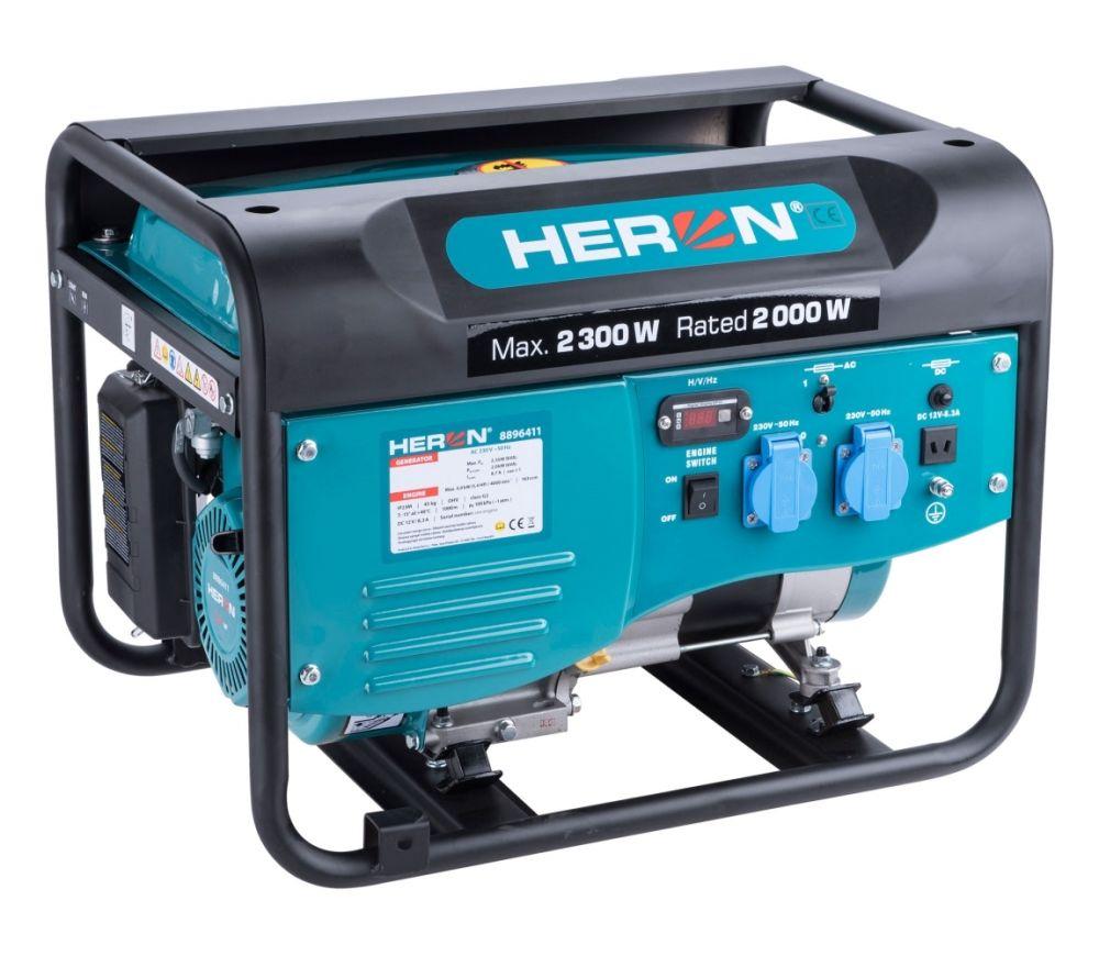 Elektrocentrála benzínová 2,3kW/5,5HP HERON Nářadí-Sklad 1   0
