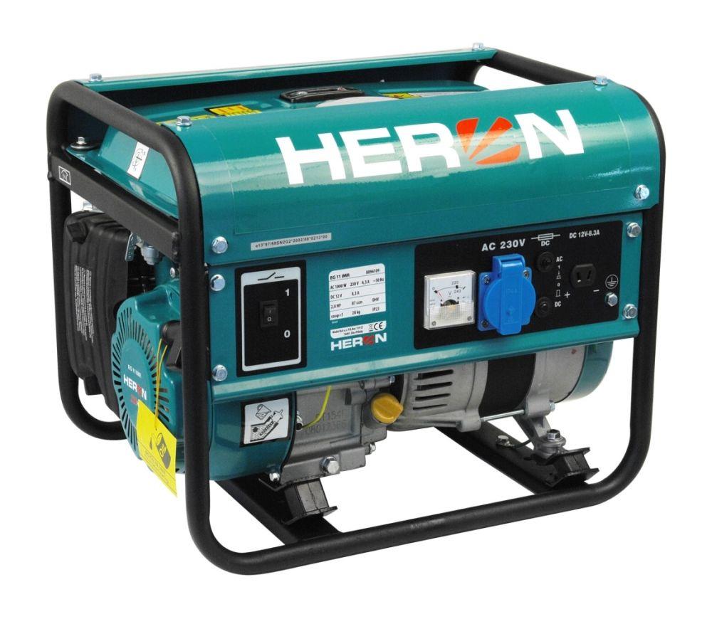 Elektrocentrála benzínová 2,8HP, 1f, 1,1kW, HERON, EG 11 IMR Nářadí-Sklad 1   28