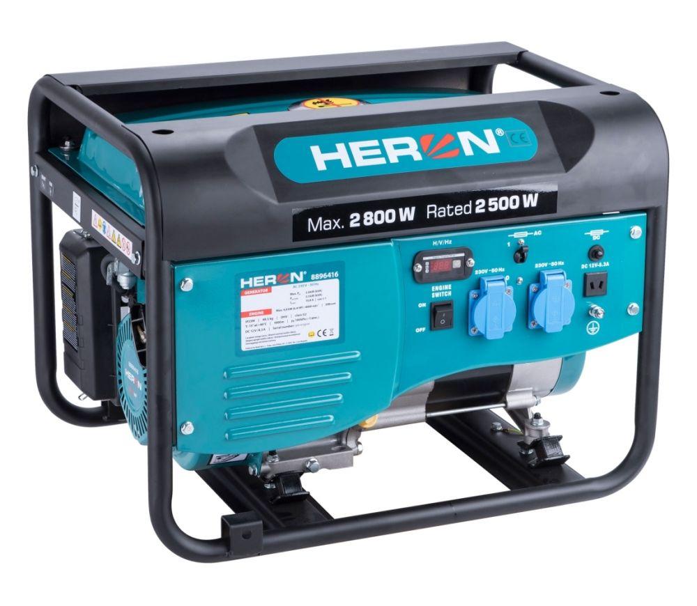 Elektrocentrála benzínová 2,8kW/6,5HP HERON Nářadí-Sklad 1 | 0