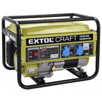 Elektrocentrála benzínová, 6,5HP/2,8kW EXTOL CRAFT
