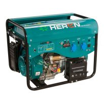 Elektrocentrála benzínová a plynová (LPG/NG) 13HP, elektrický start, Benzín 5,0kW, LPG 4,8kW, CNG 4,6kW, HERON, LPGG 50