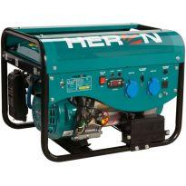 Elektrocentrála benzínová a plynová (LPG/NG) 6,3HP, elektrický start, Benzín 2,4kW, LPG 2,2kW, CNG 2,0kW, HERON, LPGG 22