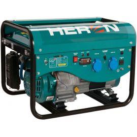 Elektrocentrála benzínová a plynová (LPG/NG) 6,3HP, ruční start, Benzín 2,4kW, LPG 2,2kW, CNG 2,0kW, HERON