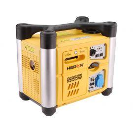 Elektrocentrála digitální invertorová 2,0HP, 1,0kW, 230V/50Hz, 1,4kW (2,0HP)/5500min-1, HERON, DGI 10 SP