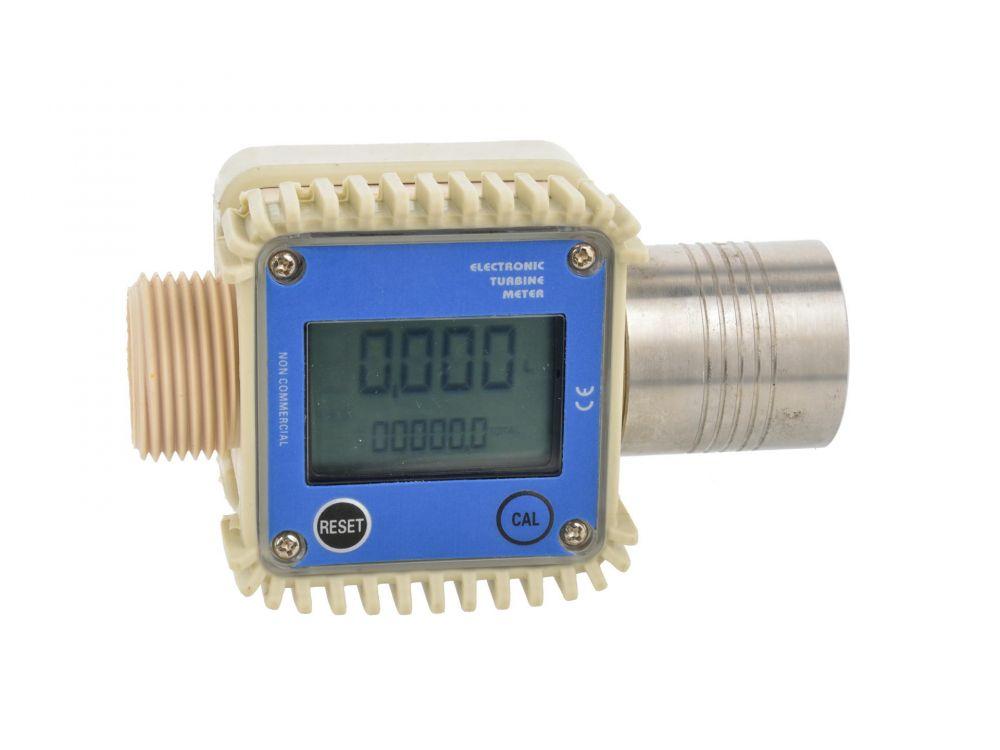 Elektronický průtokoměr paliva CPN s LCD displejem GEKO