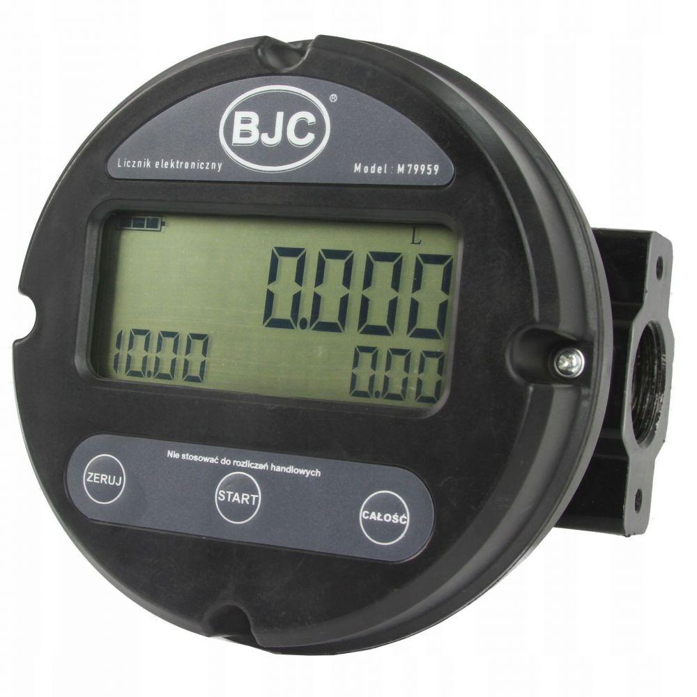 Elektronický průtokoměr paliva, LCD displej BJC