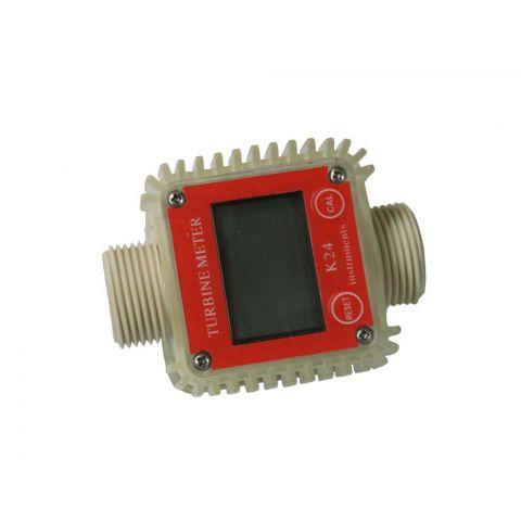 Elektronický průtokoměr paliva s LCD MAR-POL plast