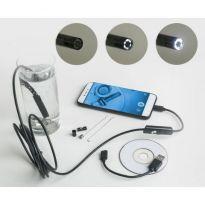 Endoskopická HD kamera, voděodolná, USB KAXL