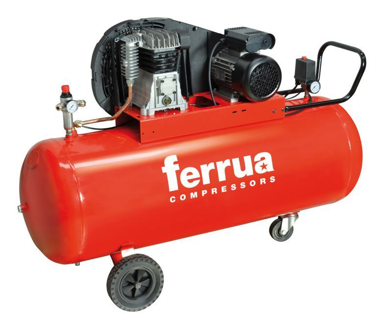 F200/230/3 - Kompresor 200l FERRUA