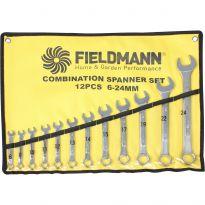 FDN 1010 Stranové klíče 12ks, 6-24mm FIELDMANN