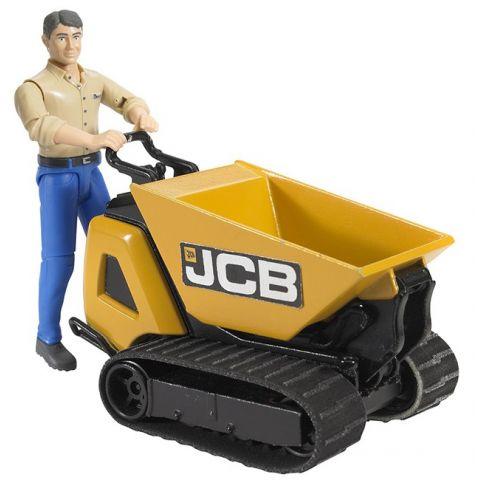 Figurka - Muž + pásový přepravník JCB 62004 BRUDER