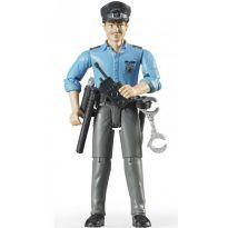 Figurka - Policista + příslušenství 60050 BRUDER