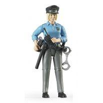 Figurka - Policistka + příslušenství 60430 BRUDER