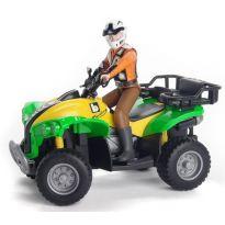 Figurka - Řidič + čtyřkolka 63000 BRUDER