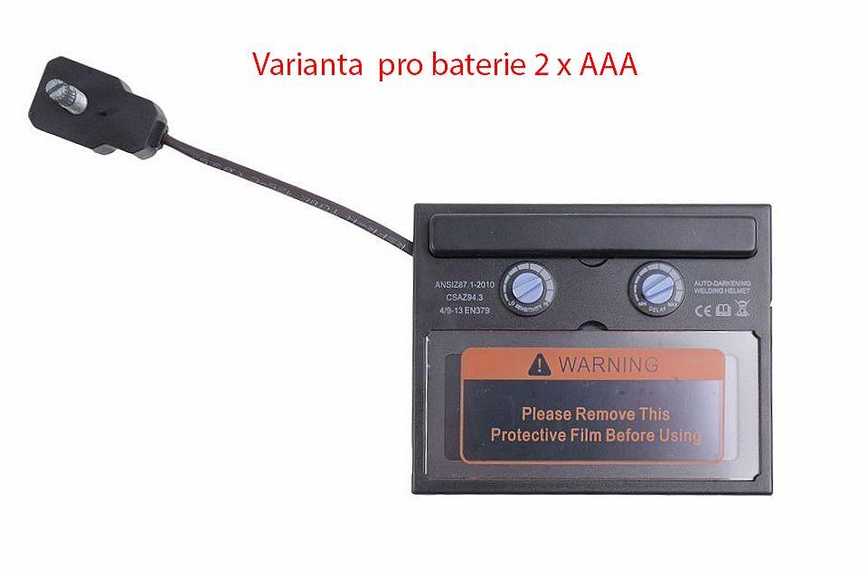 Filtr ochranný, samostmívací, 9-13 DIN pro svářecí kuklu MAR-POL *HOBY 0Kg M8700001