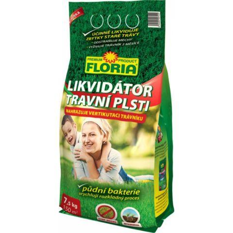 Floria likvidátor travní plsti 7,5 kg - Plsťožrout