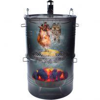 FZG 1250 Multi grill s udírnou FIELDMANN