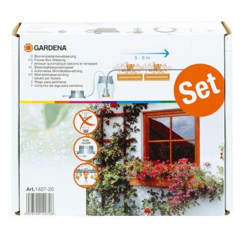 GARDENA Automatické zavlažování květinových truhlíků 1407-20